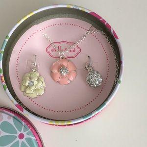 NWOTStella & Dot Kristen charm necklace for girls